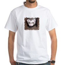 """A ferret steals your heart.. and"" Shirt"