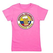 Official Colombian Drinking Team Girl's Tee