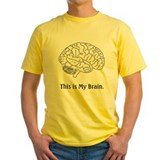 This is my Brain...Law School T