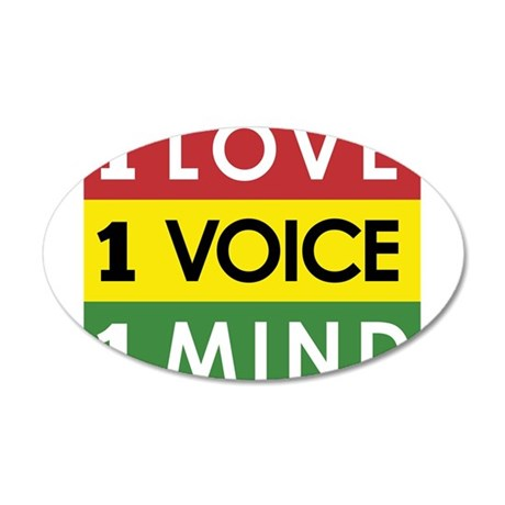 NEW-One-Love-voice-mind3 Wall Decal