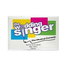 Cool The wedding singer Rectangle Magnet (10 pack)