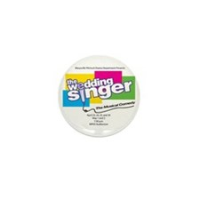 Funny The wedding singer Mini Button (10 pack)