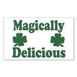 Magically Delicious Rectangle Sticker