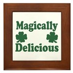 Magically Delicious Framed Tile