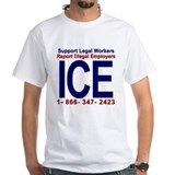 Report Illegal Employers to ICE Shirt