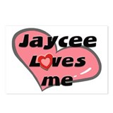 jaycee loves me  Postcards (Package of 8)