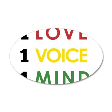 NEW-One-Love-voice-mind4 Wall Decal