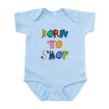 Born to Shop baby onesie