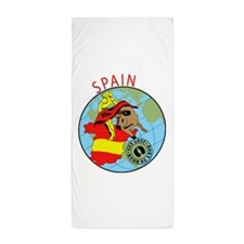 Spain Beach Towel