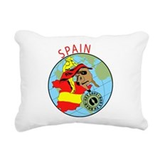 Spain Rectangular Canvas Pillow
