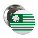 "Shamrock Flag 2.25"" Button (100 pack)"