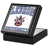 LEBRON University Keepsake Box