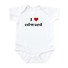 I Love edward   Infant Bodysuit