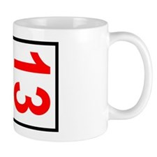 13 Autocross Number Plates Car Magnet 2 Mug