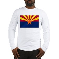 Arizona State Flag Long Sleeve T-Shirt