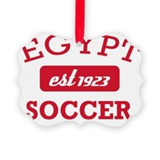 Egyptian Soccer Designs Ornament