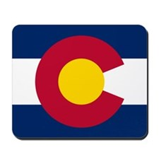Colorado CO State Flag Mousepad