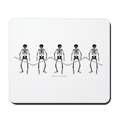 Dance Macabre Mousepad