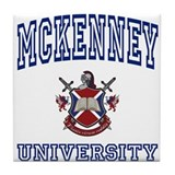 MCKENNEY University Tile Coaster