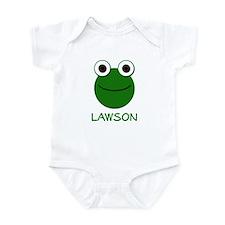 Lawson Frog Face Infant Bodysuit