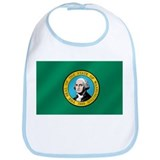 Washington State Flag Bib