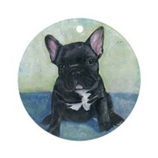 French Bulldog Ornament (Round)