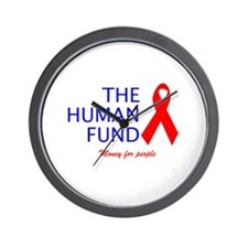 The Human Fund Wall Clock