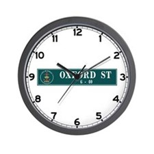 Oxford St., Sydney (AU) Wall Clock