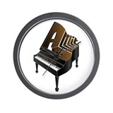 Amir grand piano Wall Clock