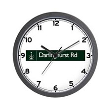 Darlinghurst Rd., Sydney (AU) Wall Clock