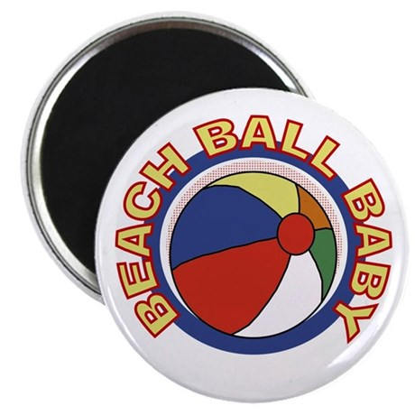 "Beach Ball Baby 2.25"" Magnet (100 pack)"