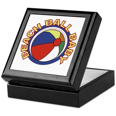 Beach Ball Baby Keepsake Box