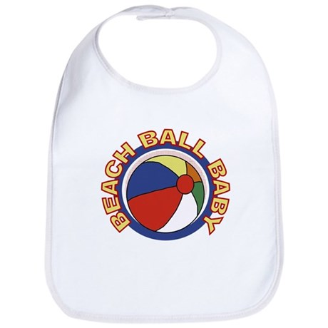 Beach Ball Baby Bib