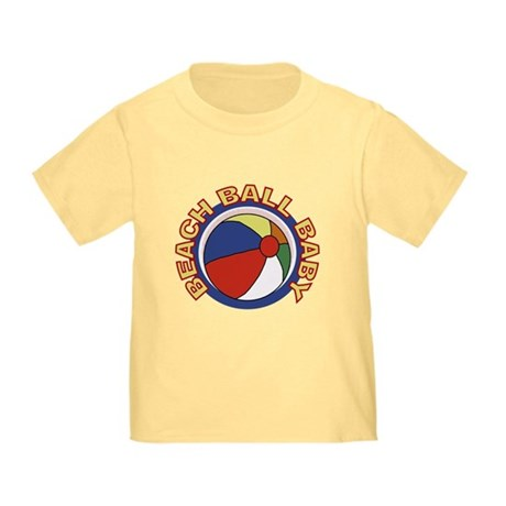 Beach Ball Baby Toddler T-Shirt