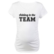 Adding to the Team Shirt