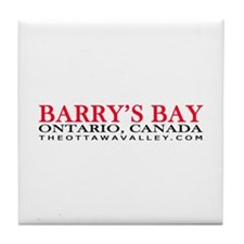 Barry's Bay Tile Coaster