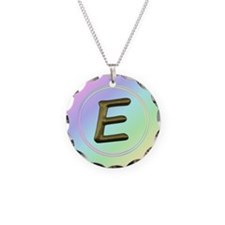 Cute Initial e Necklace