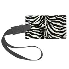 Zebra Large Luggage Tag