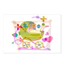 Baby Shower Invites Postcards (Package of 8)
