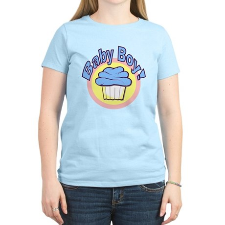Baby Boy Cupcake Women's Light T-Shirt