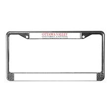 Ottawa Valley License Plate Frame