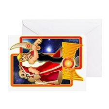 banner Flexx Jordon trans Greeting Card