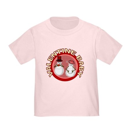 Valentine's Day Baby Toddler T-Shirt