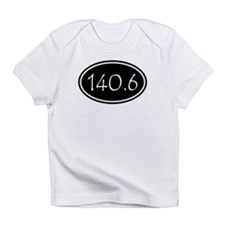 Black 140.6 Oval Infant T-Shirt