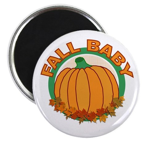 "Fall Baby Pumpkin 2.25"" Magnet (10 pack)"