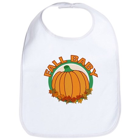 Fall Baby Pumpkin Bib