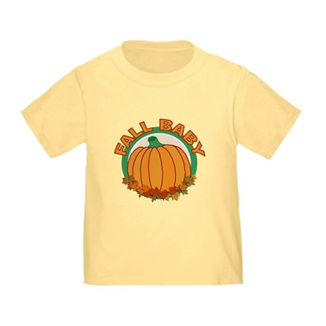 Fall Baby Pumpkin Toddler T-Shirt