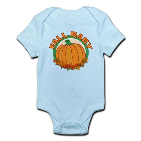 Fall Baby Pumpkin Infant Bodysuit