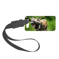 African wild dog 7 Luggage Tag
