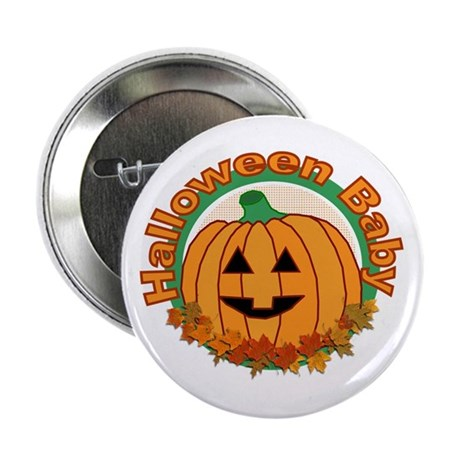 Halloween Baby Button